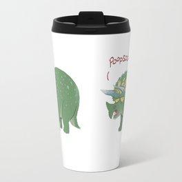 Potty Mouth Dinos: Triceratops Travel Mug