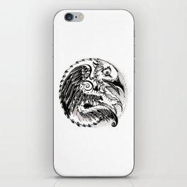 Crow Sun iPhone Skin