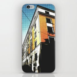The Orange Building iPhone Skin