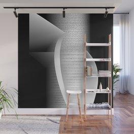 Data script 1 Wall Mural