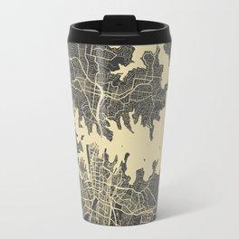 Sydney map Travel Mug