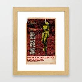 Cannibal Holocaust Poster Framed Art Print