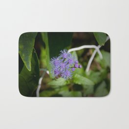 Purple Wildflower Bath Mat