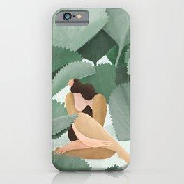 Fan Palms iPhone Case