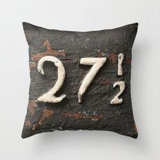 27 1/2 Throw Pillow
