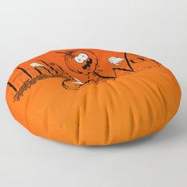 Happy and Terrific Halloween Floor Pillow
