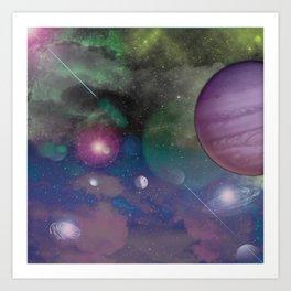 Galatica Art Print