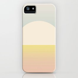 Sunrise / Sunset Abstract Gradient I iPhone Case