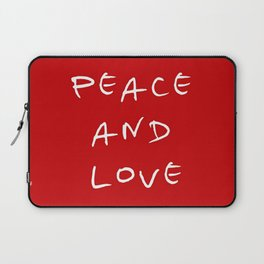 Peace and love 4 Laptop Sleeve