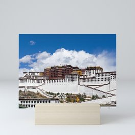 Potala palace in Lhasa - Tibet Mini Art Print