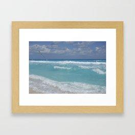Carribean sea 3 Framed Art Print