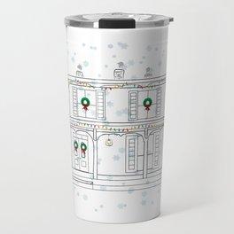 Haddaway House Holiday Travel Mug