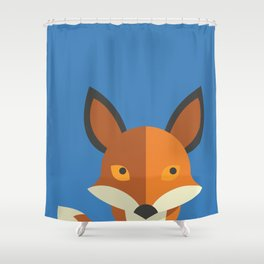 What does the fox say? Shower Curtain