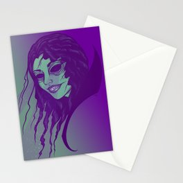 Laser Witch Stationery Cards