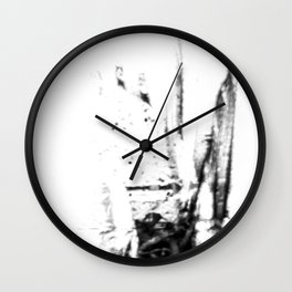 The Unseen Eye Wall Clock