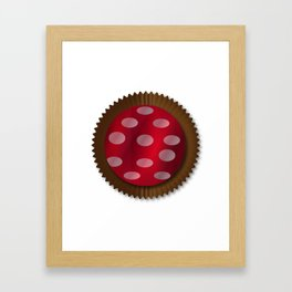 Chocolate Box Wrapped In Foil Framed Art Print