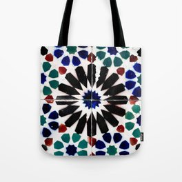 Time-worn tiles Tote Bag