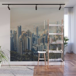 Hongkong Sunset Wall Mural