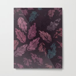 Abstract leaf painting II Metal Print