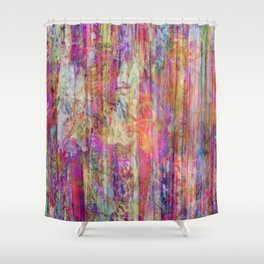 Gypsy Soul Color Crush Shower Curtain