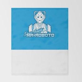 Domo Arigato Mr. Cyberman Throw Blanket