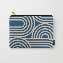 Abstraction_WAVE_GRAPHIC_VISUAL_ART_Minimalism_001 Carry-All Pouch