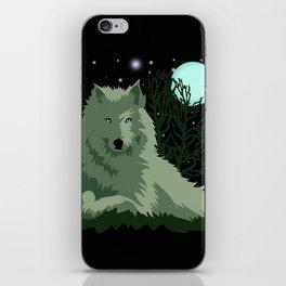 Wolf Vector Animals iPhone Skin
