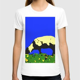 Bookends - Two Sheep - Cuckmere Haven, Sussex, UK T-shirt
