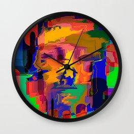 head high Wall Clock