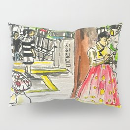 Day in Seoul Pillow Sham