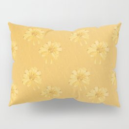 Yellow Orange Bows Pillow Sham