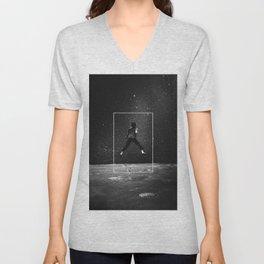 Over the Moon Unisex V-Neck