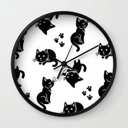 Pepper's Pattern Wall Clock