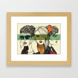 Disparate Youth Framed Art Print
