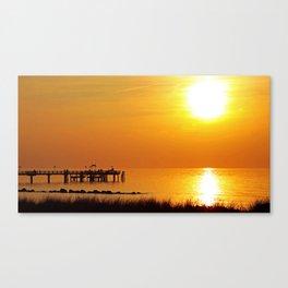 Ocean evening III Canvas Print