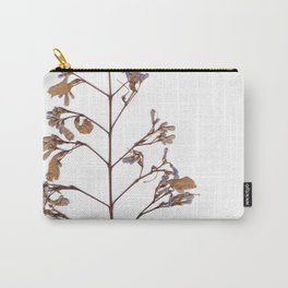Wild violet and amber flowers Carry-All Pouch