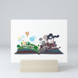 EcoBook Mini Art Print