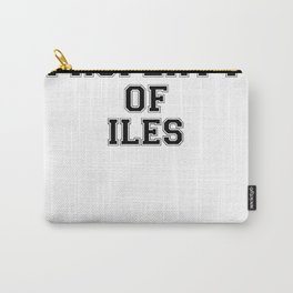 Property of ILES Carry-All Pouch