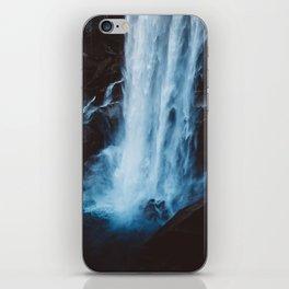 Blue Vernal Falls iPhone Skin