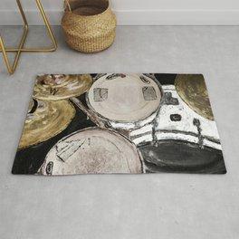 drum set, ready to rock Rug