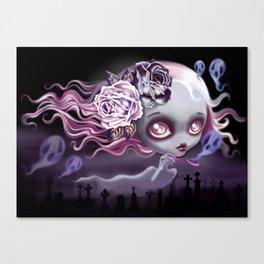Ghostly Luna Canvas Print