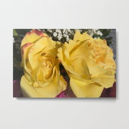 Valentine's Day Roses 24 Metal Print
