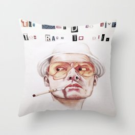 Too Weird to Live, Too Rare to Die, Part 2 Throw Pillow