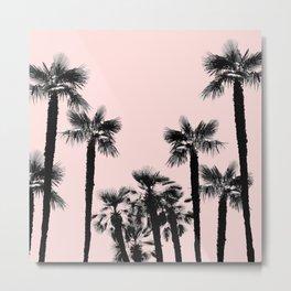 Tropical Palm Trees Dream #3 #tropic #decor #art #society6 Metal Print