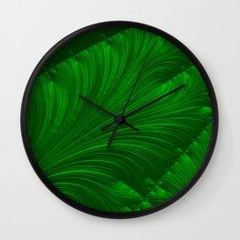 Renaissance Green Wall Clock