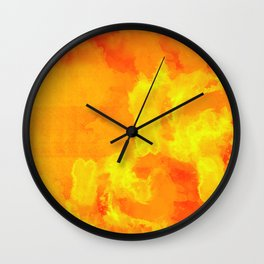 Soul and Fire Wall Clock