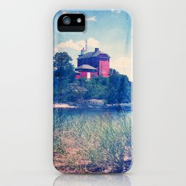 Vintage Great Lakes Lighthouse iPhone Case