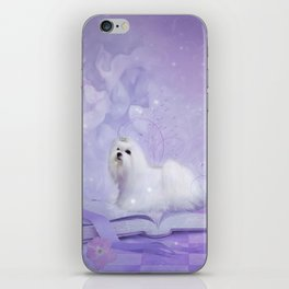 Beautiful maltese iPhone Skin