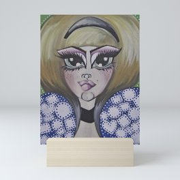 ALICE AND THE QUEEN Mini Art Print