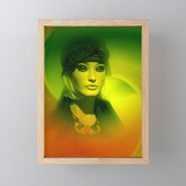 mannequin art -101- Framed Mini Art Print